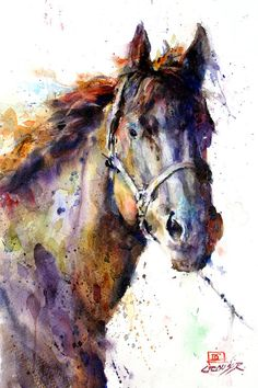 Horse III by Dean Crouser is printed with premium inks for brilliant color and then hand-stretched over museum quality stretcher bars. 60-Day Money Back Guarantee AND Free Return Shipping.