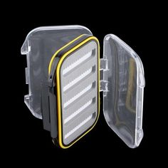 Cheap fly box, Buy Quality fishing box directly from China fly fishing box Suppliers: Plastic Waterproof fly fishing Double Side Clear Slit Foam fly Fishing Box FLY BOX Tackle Case Box drop shipping Fishing Storage, Fishing Tackle Box, Fishing Tools, Fly Fishing, Mousse, Fish In A Bag, Siding Materials, Schaum, Flyer