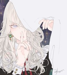 Ideas for hair drawing manga girl Pretty Anime Girl, Beautiful Anime Girl, Kawaii Anime Girl, Anime Art Girl, Anime Girls, Anime Girl Dress, Manga Girl, Chica Anime Manga, Chibi