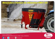 Mezcladora Vertical de Alimentos FMV1,5S   #Fimaks #Ensiladoras #Picadoras #Maíz #Ensilaje #Agricultura #Granja #Maquinaria #Fent #Case #IH #Case #CaseIH #JD #JohnDeere #JD #Claas #NewHolland #MF #MasseyFerguson #Harvester #Implementos #Implement #Global #Work #Trabajo #Farm #Hacienda #MixerFeeder #Mixer #Mezcladora #Estiercolera