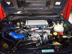 Finished WRX Engine Replacement