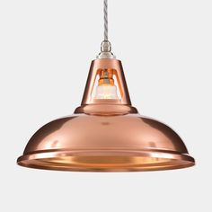 Coolicon Industrial Copper Pendant Light by Artifact Lighting, the perfect gift for Explore more unique gifts in our curated marketplace. Lighting Uk, Copper Lighting, Pendant Lighting, Kitchen Lighting, Ceiling Pendant, Modern Lighting, Lighting Ideas, Vintage Industrial Lighting, Industrial Design