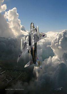 Phantom FGR2 No. 111 Sqn RAF by Peter van Stigt