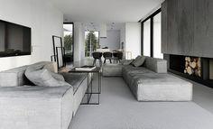 Strak interieur in mooie grijstinten