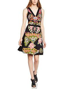 Desigual - Vest_Yentes, Vestito da donna,  senza maniche, nero(schwarz - noir (negro)), 44 it (l) (42 fr) Desigual http://ebay.to/1Gku8uN