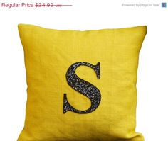4th of July SALE Personalized pillows Monogrammed by AmoreBeaute