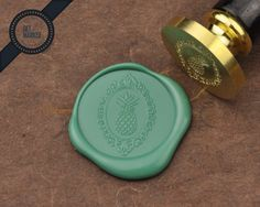 Pineapple 4 Wax Seal Stamp by Get Marked WS0274 by GetMarked