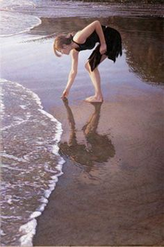 Original Painting, Where the Ocean Paints the Sand by Steve Hanks