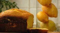 Bolo de limão na Máquina de fazer pão