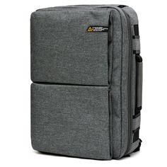 TOPPU Mens 3 Way Bag Mens 15 Laptop Backpack -S. Korea College Bag for Men , Front 2 zip pockets ,15 Laptop Compartment, Waterproof