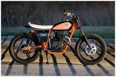 1974 Honda CL360 - Josh Mott Racing - Pipeburn - Purveyors of Classic Motorcycles, Cafe Racers & Custom motorbikes