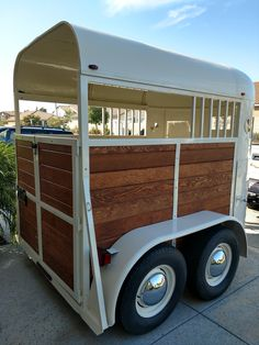 """See our web site for additional info on """"horse trailer towing vehicles"""". It is an exceptional location to get more information. Concession Trailer, Food Trailer, Landscape Trailers For Sale, Converted Horse Trailer, Horse Box Conversion, Hunting Outfitters, Stock Trailer, Coffee Trailer, Fifth Wheel Trailers"""