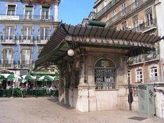Quiosque dos restauradores, Lisboa
