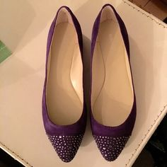 Nine West Purple Flats Brand new. Final sale. Pls ask questions before purchasing Nine West Shoes Flats & Loafers