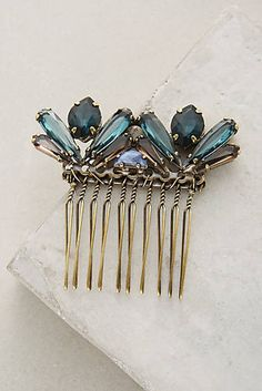Faceted Crystal Comb