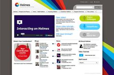 Glasgow Housing Associations Intranet - Holmes by interact intranet, via Flickr