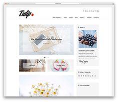 tulip-minimal-blog-w