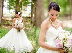 Rustic Chic Pink, Yellow & Grey DIY Wedding - Bridal Musings Wedding Blog