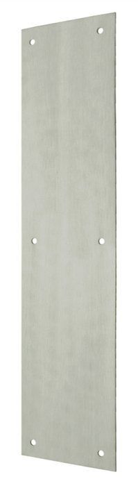 """Deltana PP3515 3-1/2"""" x 15"""" Solid Brass Push Plate"""
