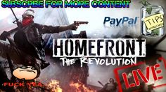 LET'S PLAY HOMEFRONT THE REVOLUTION | PS4 LIVESTREAM
