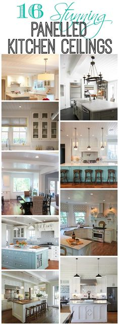A Panelled Ceiling?? {What do you think of them?! I need your help