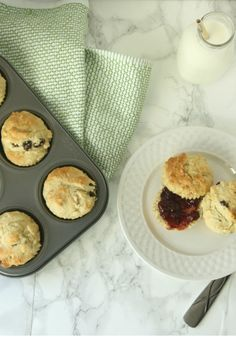 Delicious Irish Soda Bread Muffin Recipe   MomTrends Muffin Recipes, Bread Recipes, Traditional Irish Soda Bread, Irish Breakfast, Corn Beef And Cabbage, Muffin Tins, Salted Butter, Perfect Food, Have Time