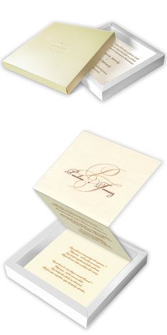 wedding cards, invitation, unusual, box