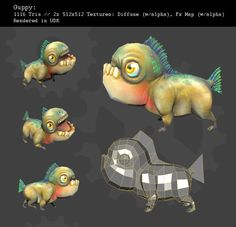 Guppy by ~king-worm on deviantART