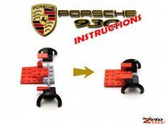 Porsche 930: A LEGO® creation by Zeto Vince : MOCpages.com
