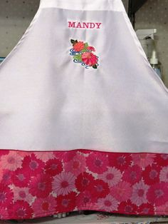 an apron that I made for someone