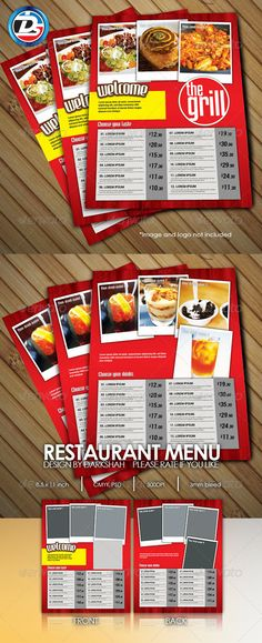 20 Stunning Premium Restaurant Menu Designs Templates Design