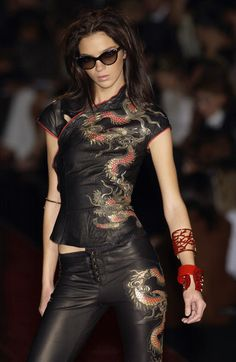 Roberto Cavalli at Milan Fashion Week Spring 2003 - StyleBistro