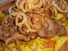 Hungarian Recipes, Pork Dishes, Food 52, Sausage, Steak, Grilling, Bacon, Food And Drink, Beef