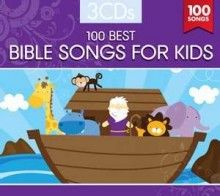 100 Best Bible Songs For Kids (3 CD)