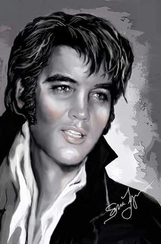 Elvis art by Sara Lynn Sanders. Elvis Aaron Presley - January 8, 1935 Tupelo, Mississippi, U.S. DiedAugust 16, 1977 (aged 42) Memphis, Tennessee, U.S. Resting place Graceland, Memphis, Tennessee, U.S. Education . L.C. Humes High School OccupationSinger, actor Home townMemphis, Tennessee, U.S. Spouse(s)Priscilla Beaulieu (m. 1967; div. 1973) Children Lisa Marie Presley