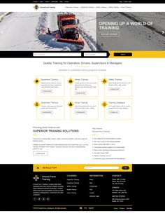The Webilize team developed a Custom .NET Website for Ground Force Training: www.groundforcetraining.com. Ground Force Training is a nation-wide heavy equipment and driver training company, providing heavy equipment training to townships, counties, districts and rural municipalities as well as private industries including farms, construction and utility companies. -- Webilize is a team of Website/ App/ Software Developers. Email or call us for more info. www.webilize.com -- #websites…