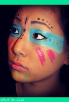 Tribal Makeup | Emmallyn B.'s Photo | Beautylish