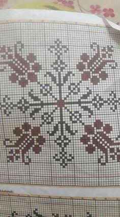 Cross Stitch Borders, Cross Stitch Flowers, Cross Stitching, Cross Stitch Embroidery, Cross Stitch Patterns, Blue Tiles, Bargello, Diy And Crafts, Fabric