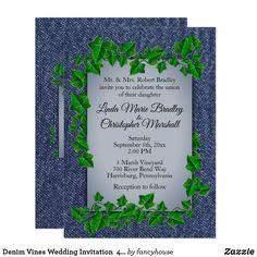 Denim Vines Wedding