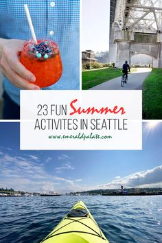 What to do during summer in Seattle, as told by a local. From the best beaches, parks, hikes, outdoor dining, and more, use this as your summer bucket list of fun summer activities in Seattle!