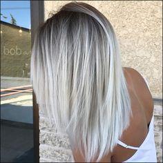 10 Beste Medium Frisuren für Frauen – Fügen Sie Einige Blonde in ... | Einfache Frisuren