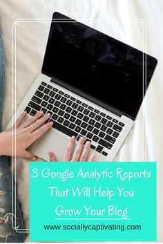3 Google Analytics Reports That Can Help You Grow Your Blog on Socially Captivating | Some people blog just for fun or to have a creative outlet. But let's be honest: most of us want to see high traffic numbers, and eventually revenue. Once you have started finding ways of driving traffic to your blog, it's important to look at the numbers in Google Analytics. (If you're a complete Analytics …