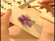 How to Paint Porcelain : How to Add More Color to Your Porcelain Painting 2