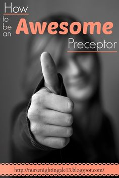 How to be an Awesome Nursing Preceptor. Here are the characteristics that you need to be a successful preceptor. How to be an Awesome Nursing Preceptor. Here are the characteristics that you need to be a successful preceptor. Nursing School Tips, Icu Nursing, Nursing Tips, Nursing Notes, Nursing Schools, Nursing Career, Nursing Leadership, Critical Care Nursing, Clinical Nurse Leader