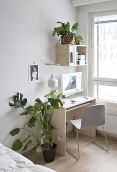 Simple with greenery