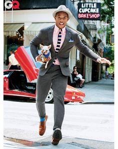 Victor Cruz New York NFL pour GQ Magazine Septembre 2012 « Timodelle Magazine - Men with style #Dapper #Suitandtie