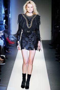 Balmain Fall 2010 Ready-to-Wear Fashion Show - Elena Melnik (SILENT)