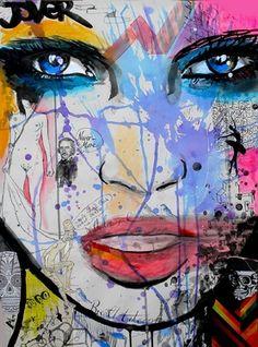 "Saatchi Online Artist Loui Jover; Drawing, ""nevermore"" #art"