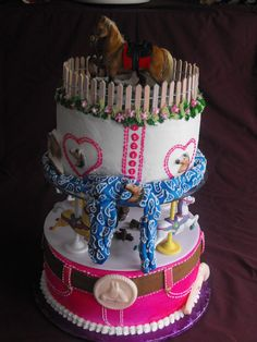 Western Birthday Cakes for Girls | Western Girl