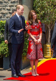 The Duke and Duchess of Cambridge Tour of India.